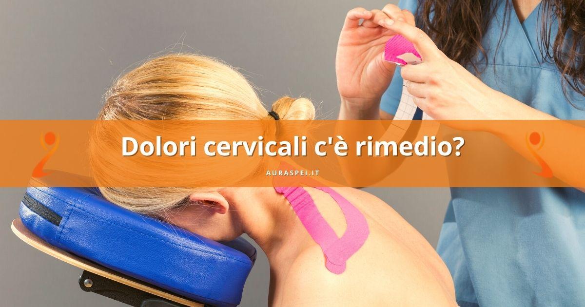 dolori cervicali rimedio con taping