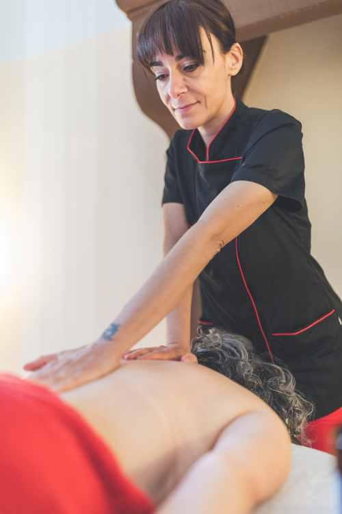 Massaggio svedese tecnica